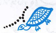 آموزش-خط-تحریری-نوشتن-ح-لاکپشتی-در-تصویر