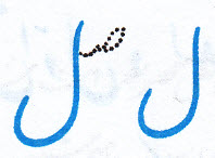 آموزش خط تحریری نوشتن ل در حالت متصل آخر کلمه