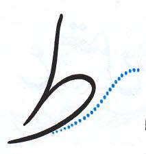 آموزش خوشنویسی با خودکار نوشتن ط در آخر کلمه